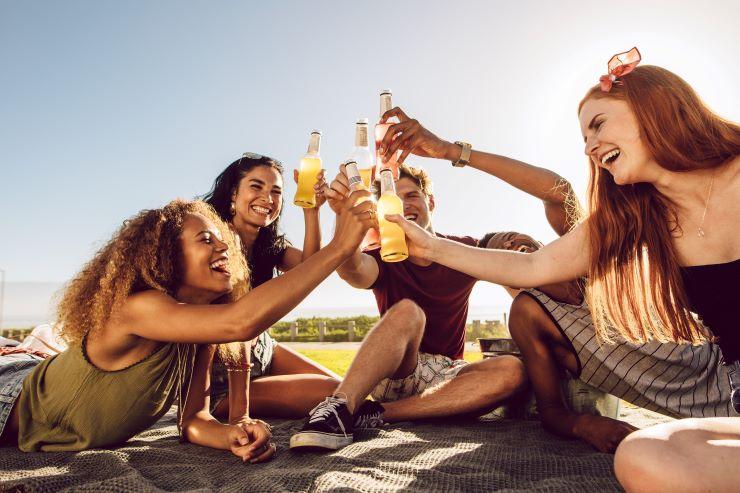summer drinking